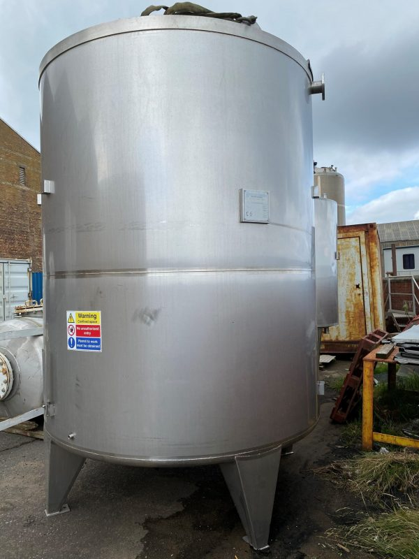 10000_Litre_SS_Stainless_Steel_Storage_tank_Vessel_external