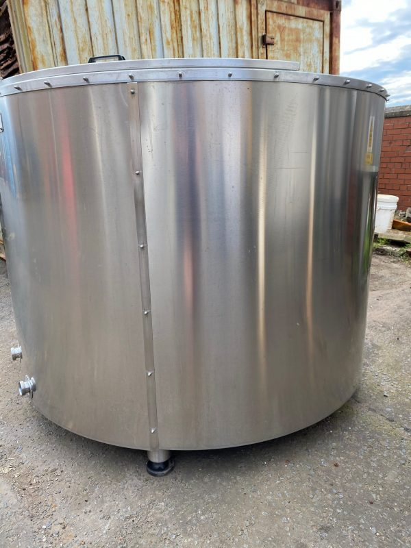 1800_litre_fermentation_vessel_316_stainless_Steel