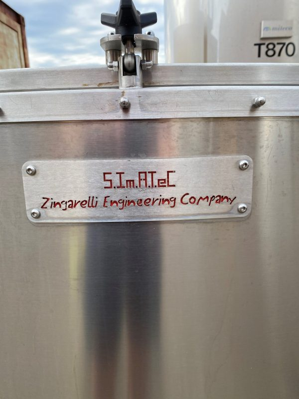 1800_litre_fermentation_vessel_316_stainless_Steel_Name_Plate