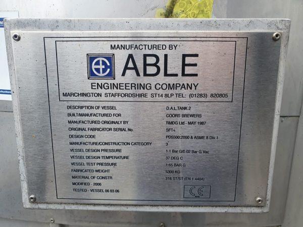 50000_BBT_stainless_steel_storage_tank_vessel_name_plate