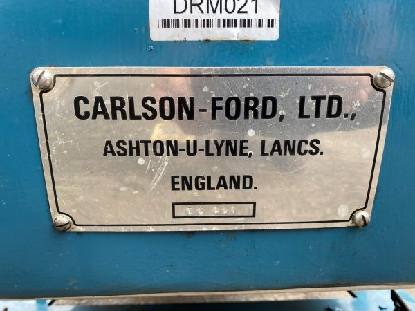 spirit filter press carlson ford Name Plate